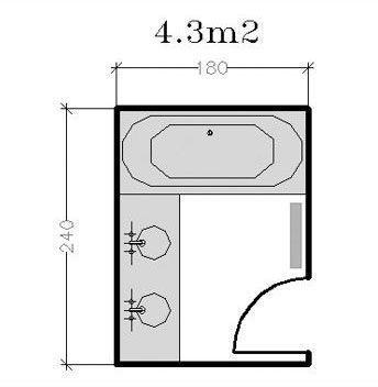 Httpsipinimgcomoriginalsdcebdcebfdd - Plan d une salle de bain