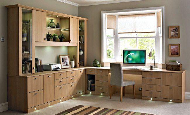 decoracion despachos en casa | Despachos | Pinterest | Despacho en ...