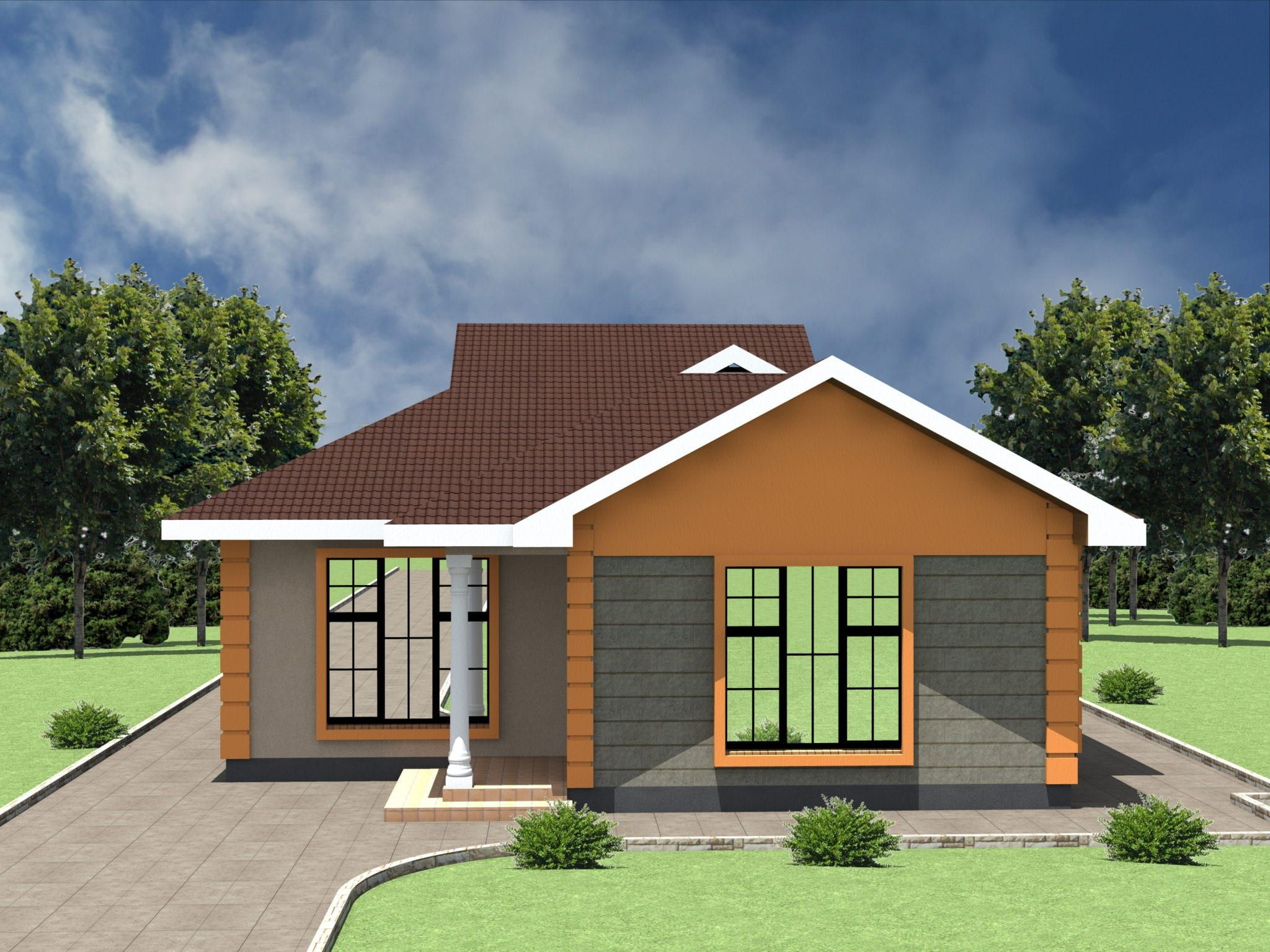 Low Cost 2 Bedroom House Plan In Kenya Hpd Consult 2 Bedroom House Plans 2 Bedroom House Design Two Bedroom House Design