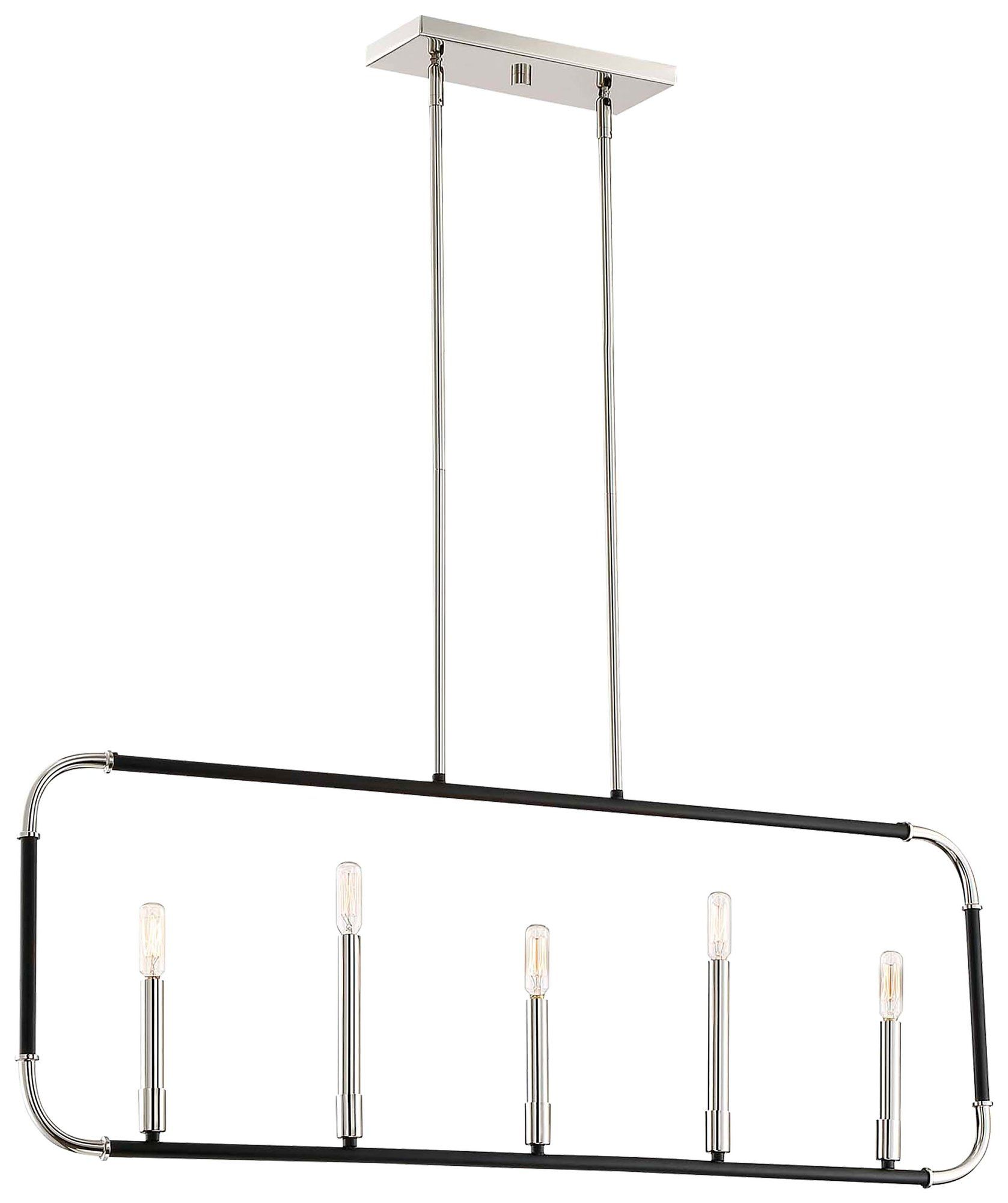Karst 5 Light Kitchen Island Pendant