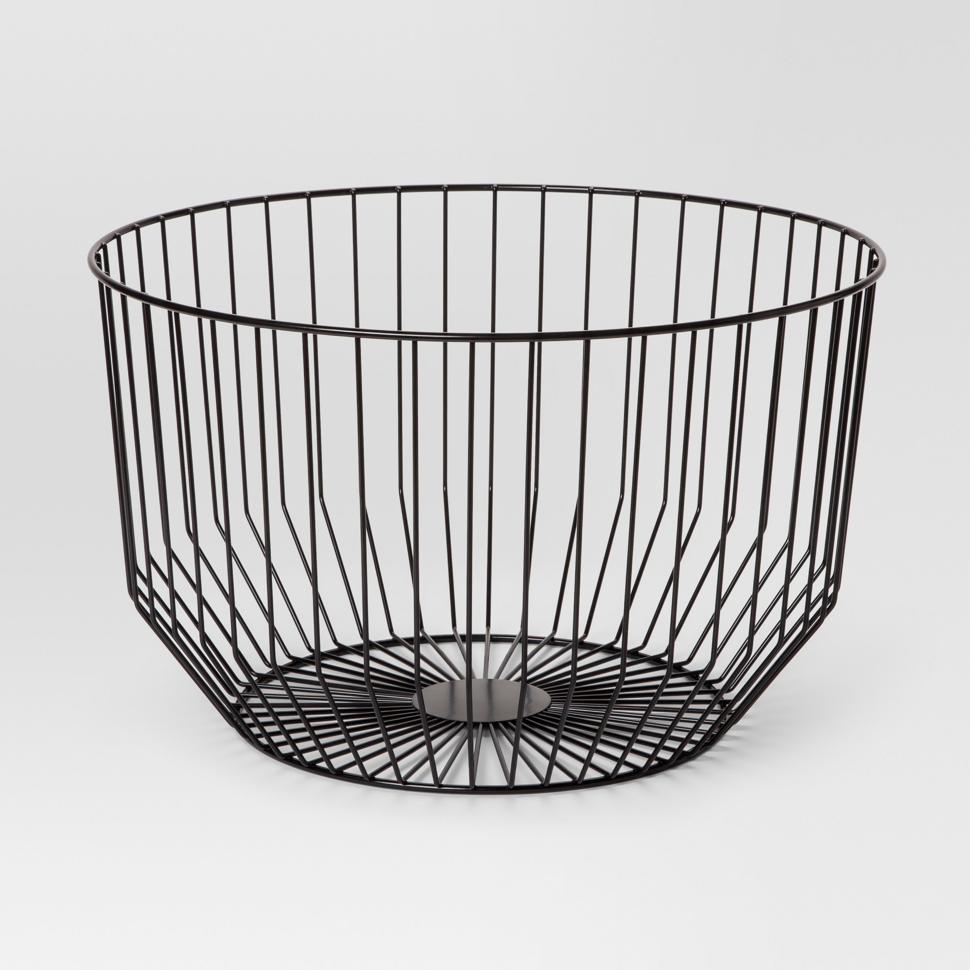Round Wire Basket Large - Black - Project 62 | Wire basket, Large ...