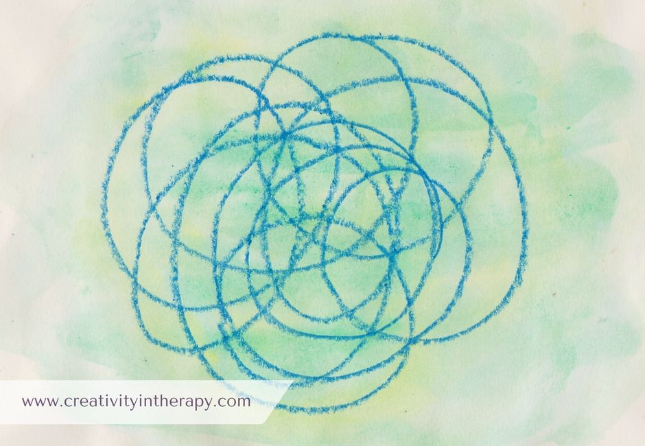 Drawing your breath a mindful art exercise creativity in therapy