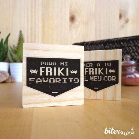 Be friki my friend! #biterswit @biterswit #freak #stamp