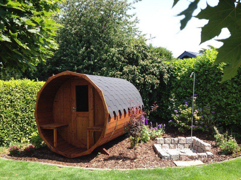 finntherm fass sauna sam eine sauna f r den garten pinterest garten gartenhaus und sauna. Black Bedroom Furniture Sets. Home Design Ideas
