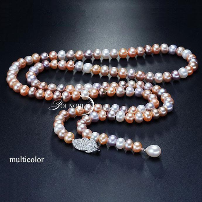 Freshwater Tassel Long Pearl Necklace