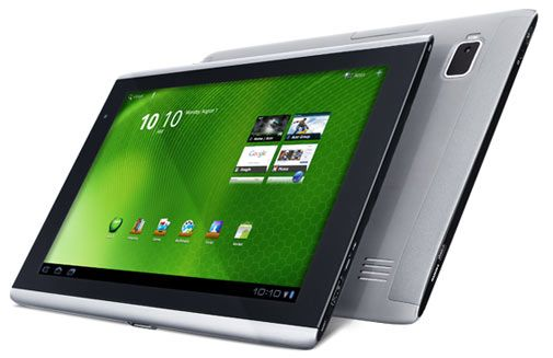 Acer Iconia Tab A500 for Android Tablet 3.0 Should be Considered