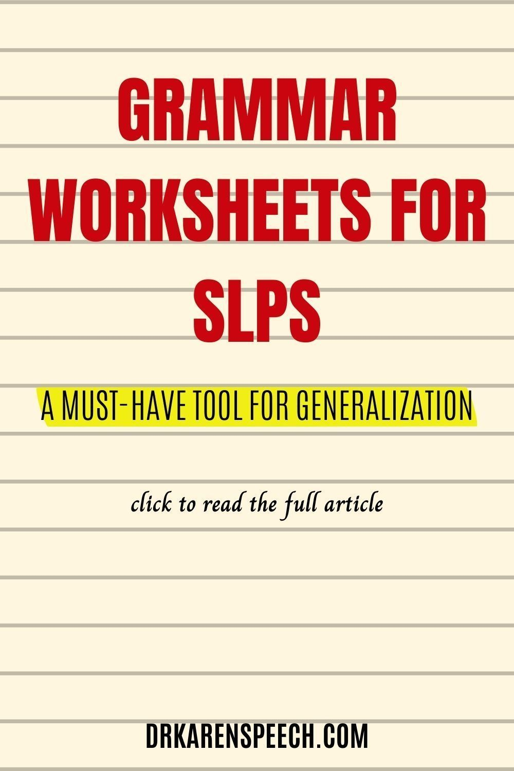Grammar Worksheets For Slps A Must Have Tool For Generalization Dr Karen Speech And Language Speech Therapy Activities Grammar Worksheets Speech And Language [ 1500 x 1000 Pixel ]