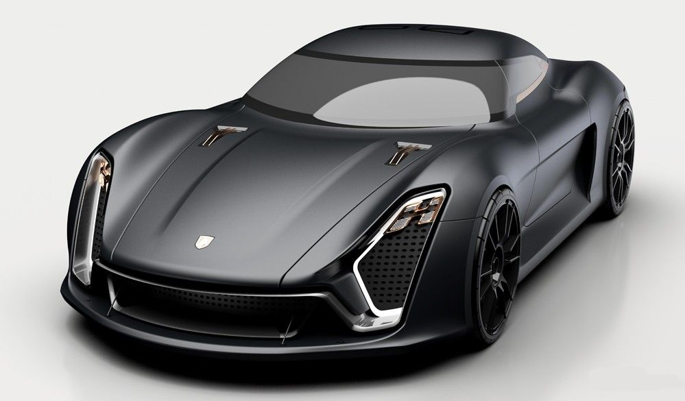 Porsche 939 Supercar Concept The Future Of Porsche Super Cars Porsche Futuristic Cars