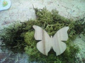 Iný materiál - Motýļ - 6453601_