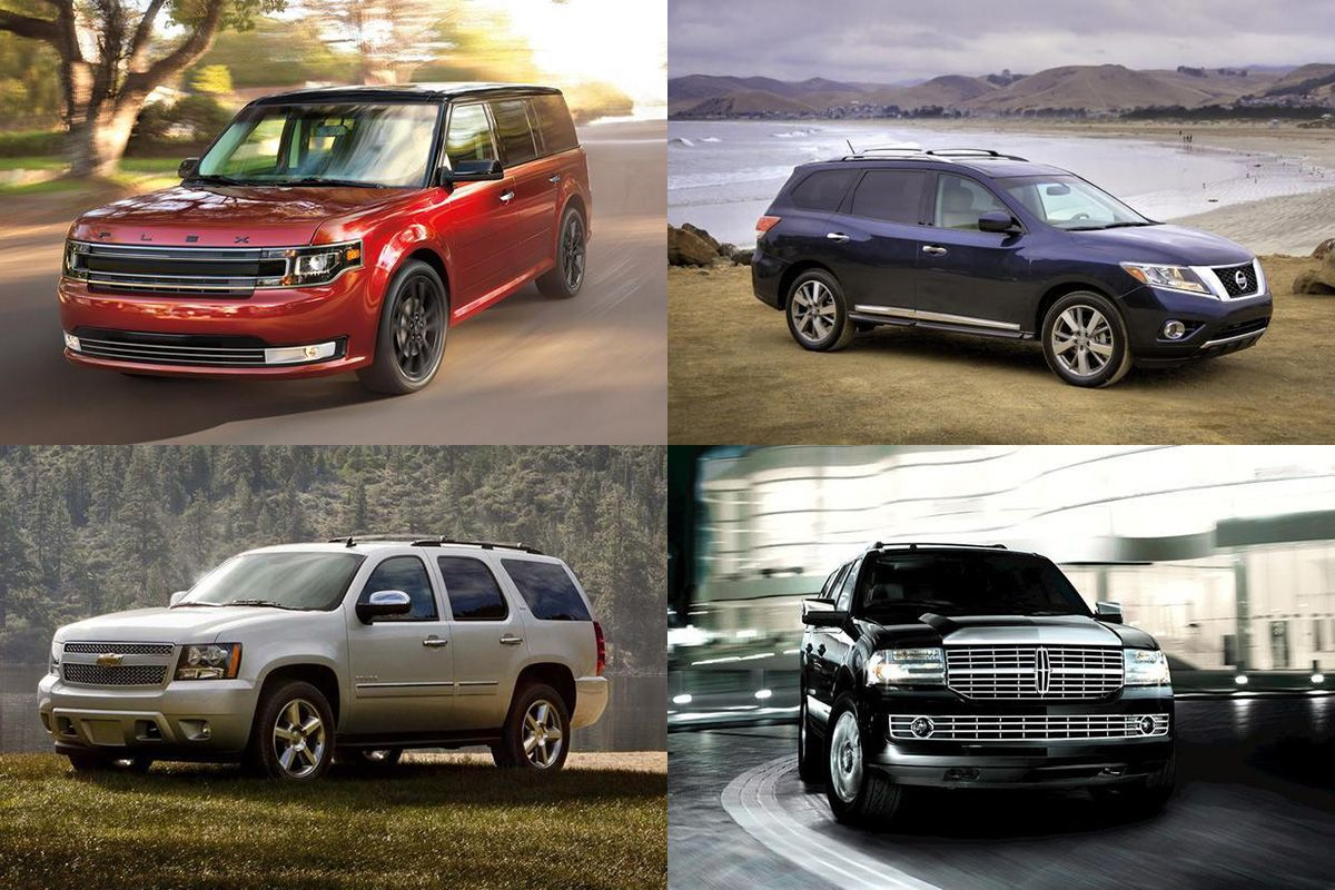 7 Great Used 3Row SUVs Under 15,000 for 2019 3rd row