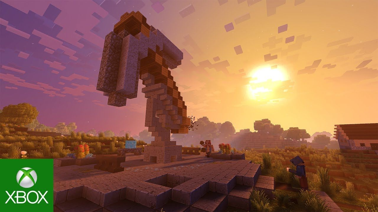 Minecraft E K Trailer Vid Games From The Depths Of - Minecraft spiele anschauen