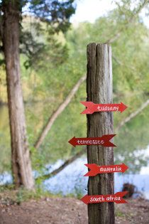 #wedding #red #signs