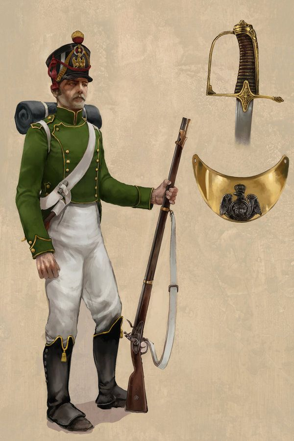 French; Imperial Guard, Flanquer Grenadier by JonHodgson