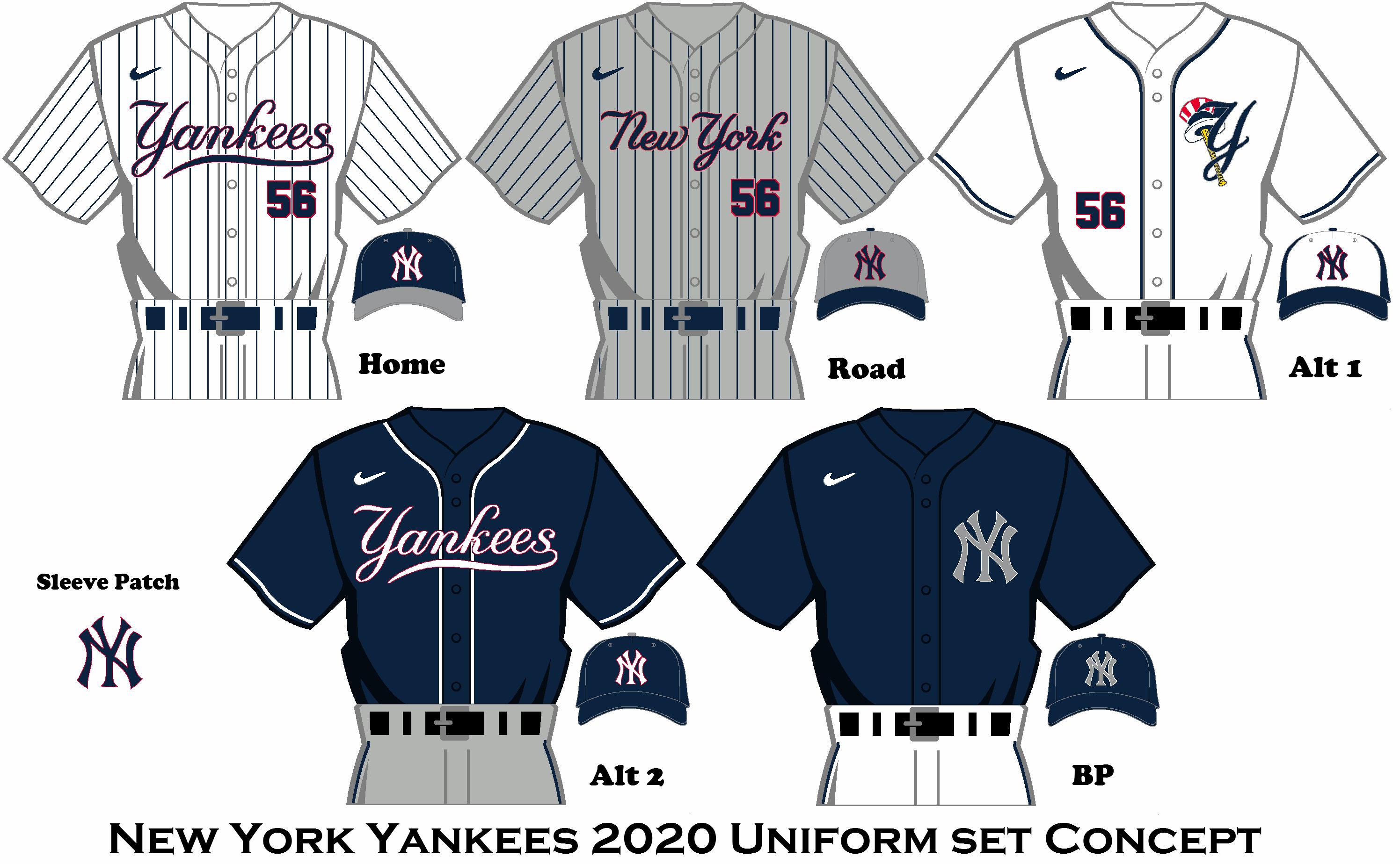 2020 Nike Rebrand New York Yankees Uniform Set New York Yankees Yankees Yankees Fan