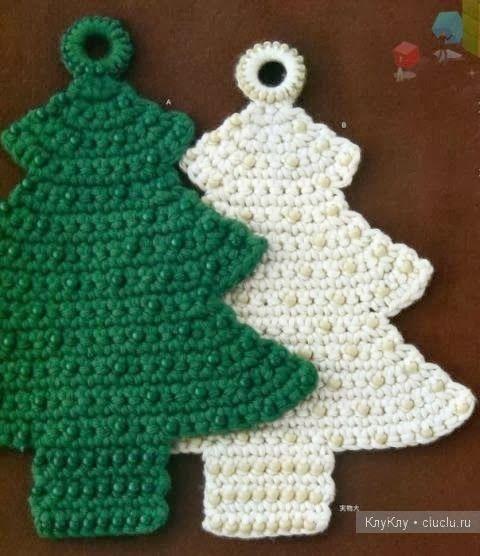 natal : inspiração em crochê … | Pinteres…