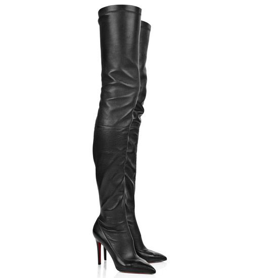 Noticeable & Discount Christian Louboutin Lili 100 Rhigh-high Boots Black  Outlet | Christian Louboutin
