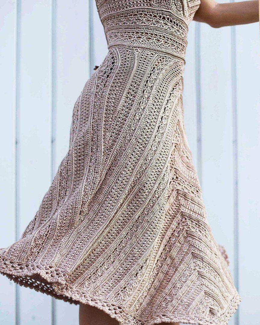 Платье Грейс Келли. Ванесса Монторо.(Песочные часы) - Вязание - Страна Мам 69f1ec4e53e