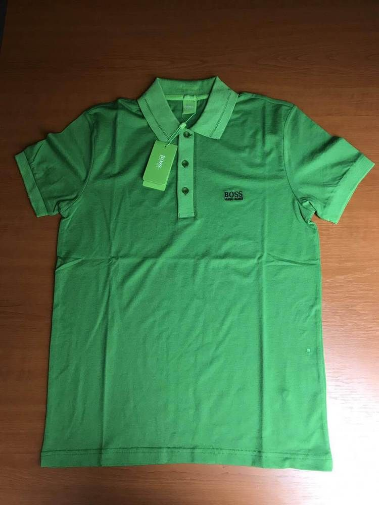 672417453 Hugo Boss Polo T-shirt Slim Fit Paule Color Green size S #HugoBoss  #PoloShirts