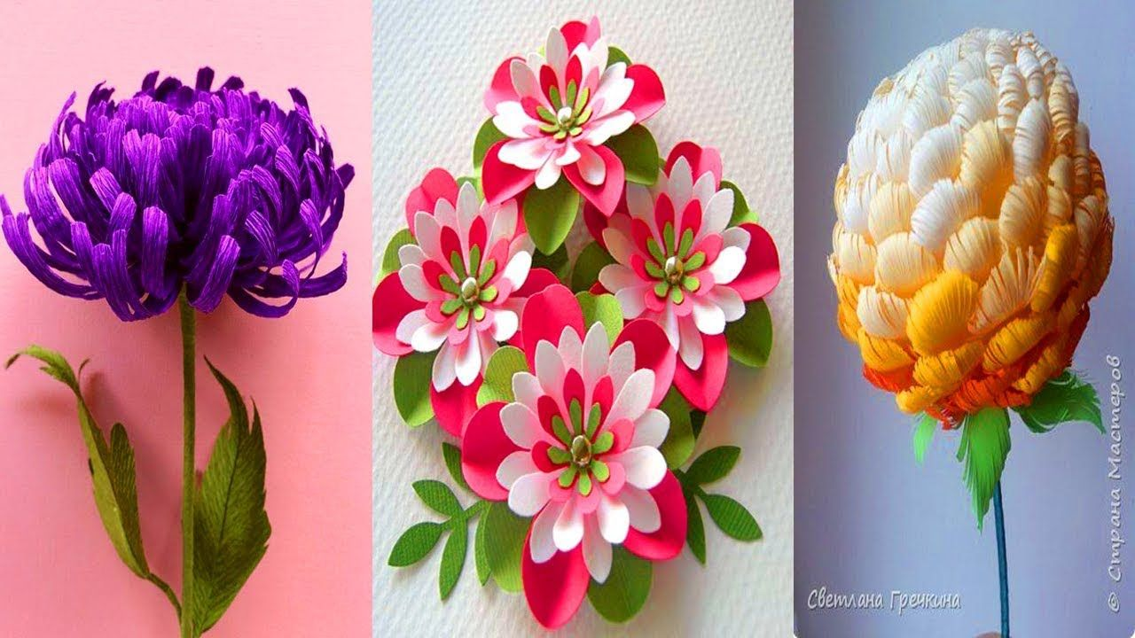 08 Origami Flower Easy Paper Flower 2018 Easy Step Paper Craft