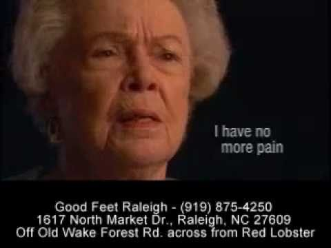 \n        Stopping Foot Pain - Heel Pain Arch Pain Plantar Fasciitis - Good Feet Raleigh Durham Cary NC\n      - YouTube\n