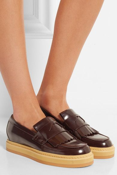 Leather loafers See By Chlo tANvFs
