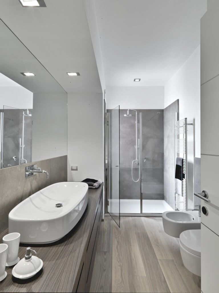 Modern Bathroom Colors 50 Ideas How To Decorate Your Bathroom Modern Bathroom Colours Grey Modern Bathrooms Bathroom Wall Colors