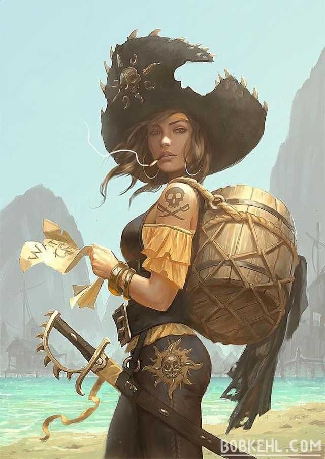 Photo of Talk with a pirate – random art