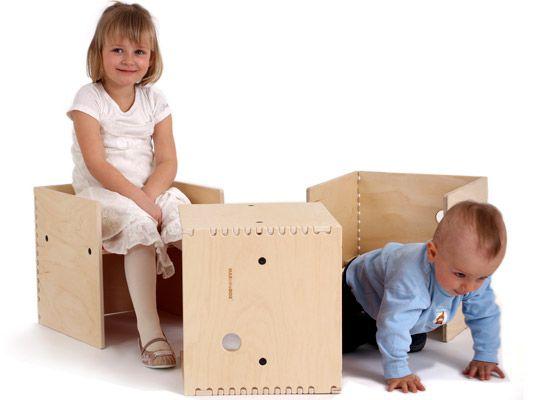 Kids Rooms · MAXintheBOX: Puzzle Piece Modular Furniture ...