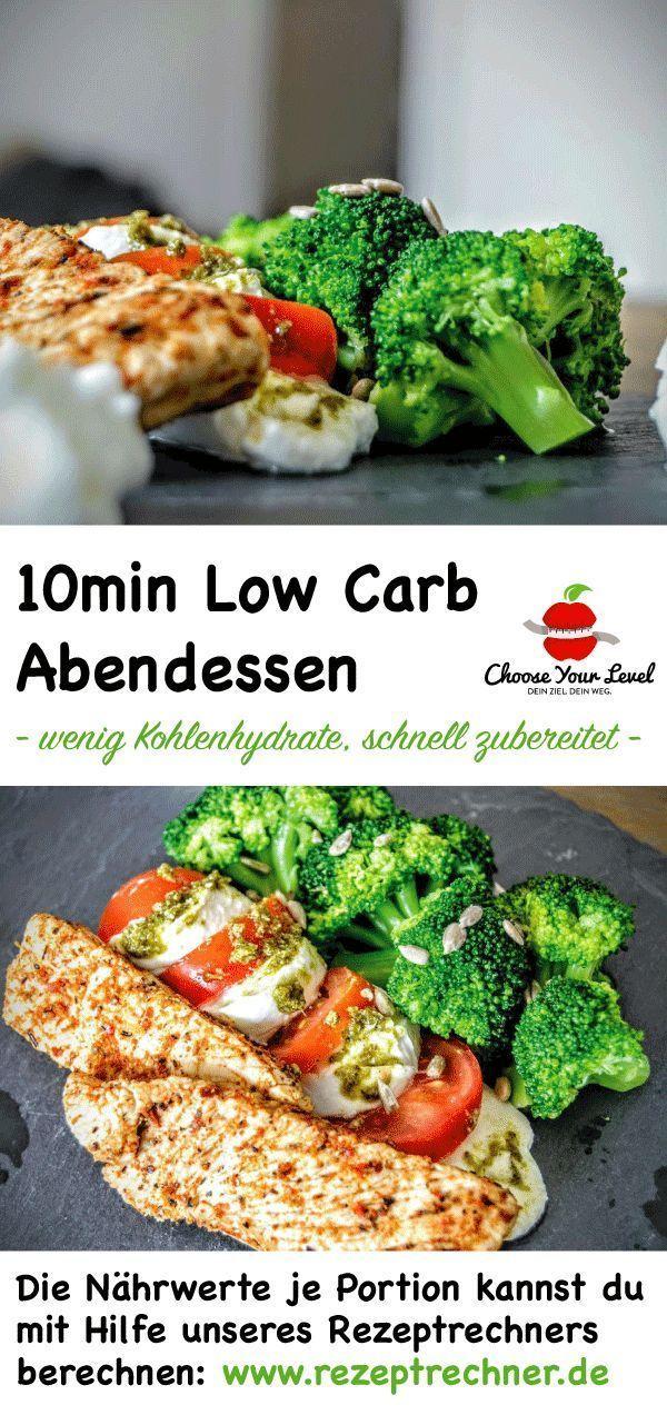 Low Carb Rezepte mit Nährwertangaben - Choose Your Level™ #abendessenschnell