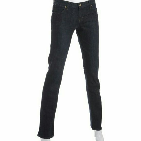 "PAPER DENIM CLOTH ""Natalie"" Peg Leg Jeans Low rise black peg leg jeans. Simple and sexy Paper Denim & Cloth Jeans"