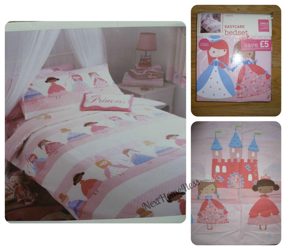 Next Childrens Bedroom Furniture Bnip Next Girls Little Princess Single Bed Set Next Girls