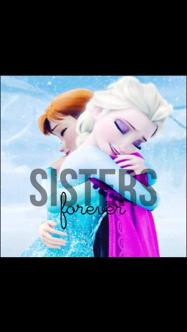 Camiseta Frozen Sisters Forever Camiseta Elsa y Anna Frozen Disney