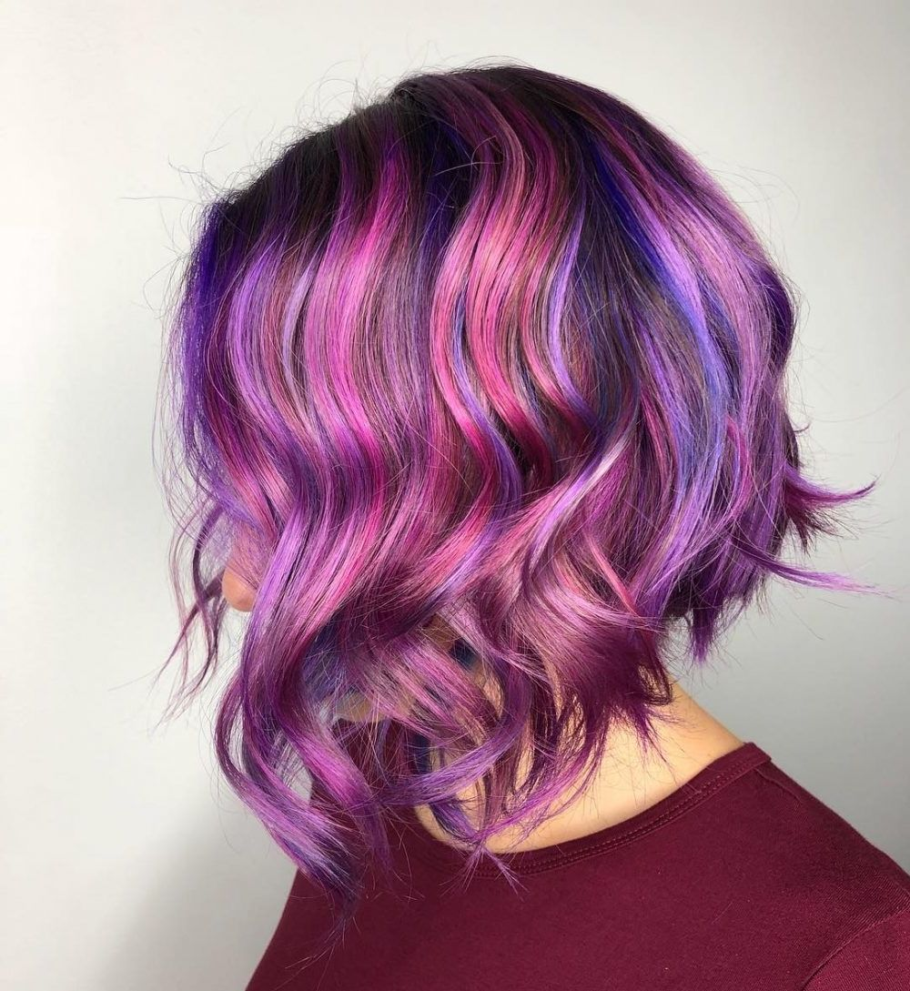 very short hairstyles and color