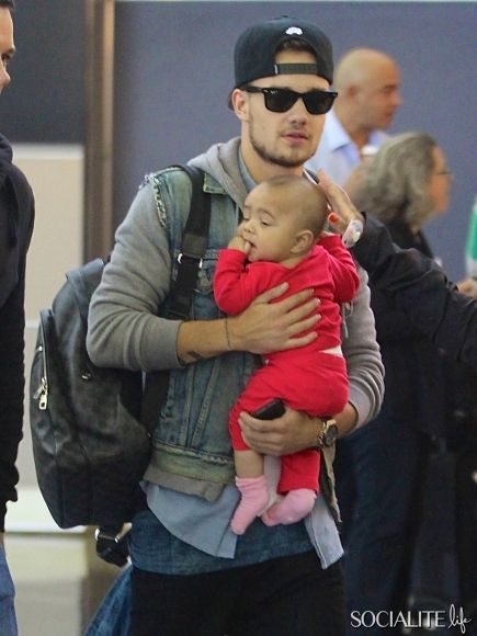 Liam Payne from One Direction was spotted at JFK airport ...