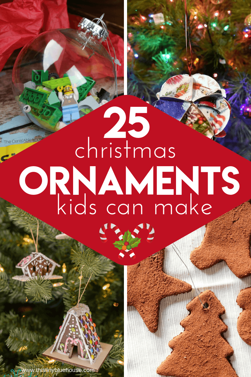 25 Diy Christmas Ornaments To Make With Kids Diy Christmas Ornaments Easy Christmas Ornaments To Make Christmas Decorations For Kids