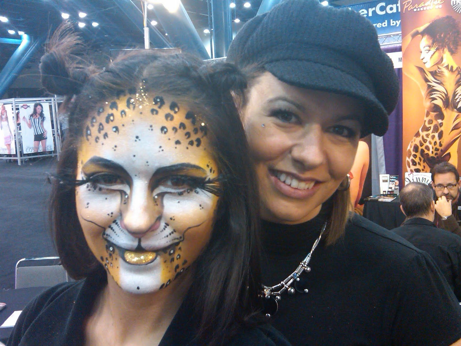 Jinny Houle Face Painting Class in Our New York Studio