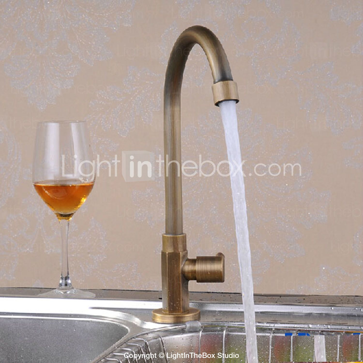 Faucet kitchen messing