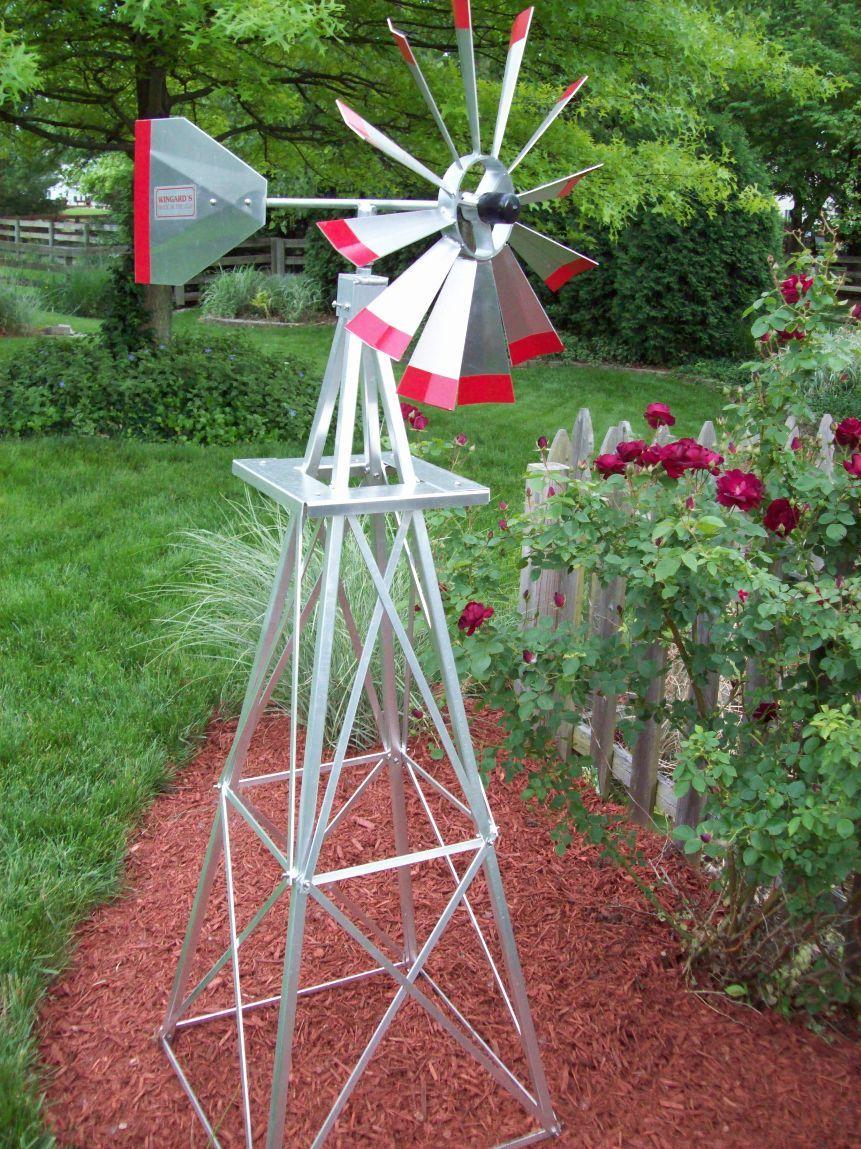 Garden Windmill Windmill Decor Garden Windmill Yard Windmill
