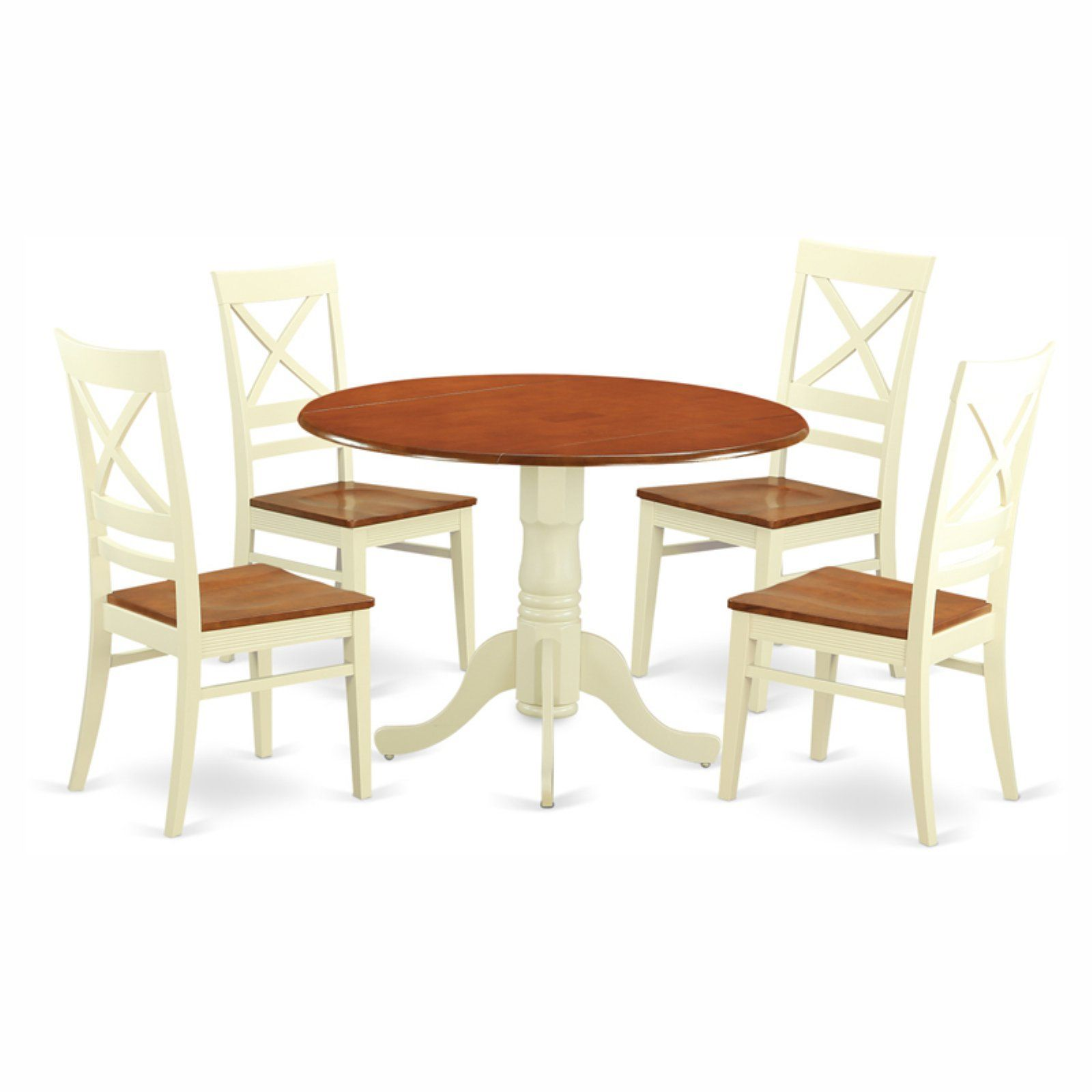 Fine East West Furniture Dublin 5 Piece Drop Leaf Dining Table Gmtry Best Dining Table And Chair Ideas Images Gmtryco