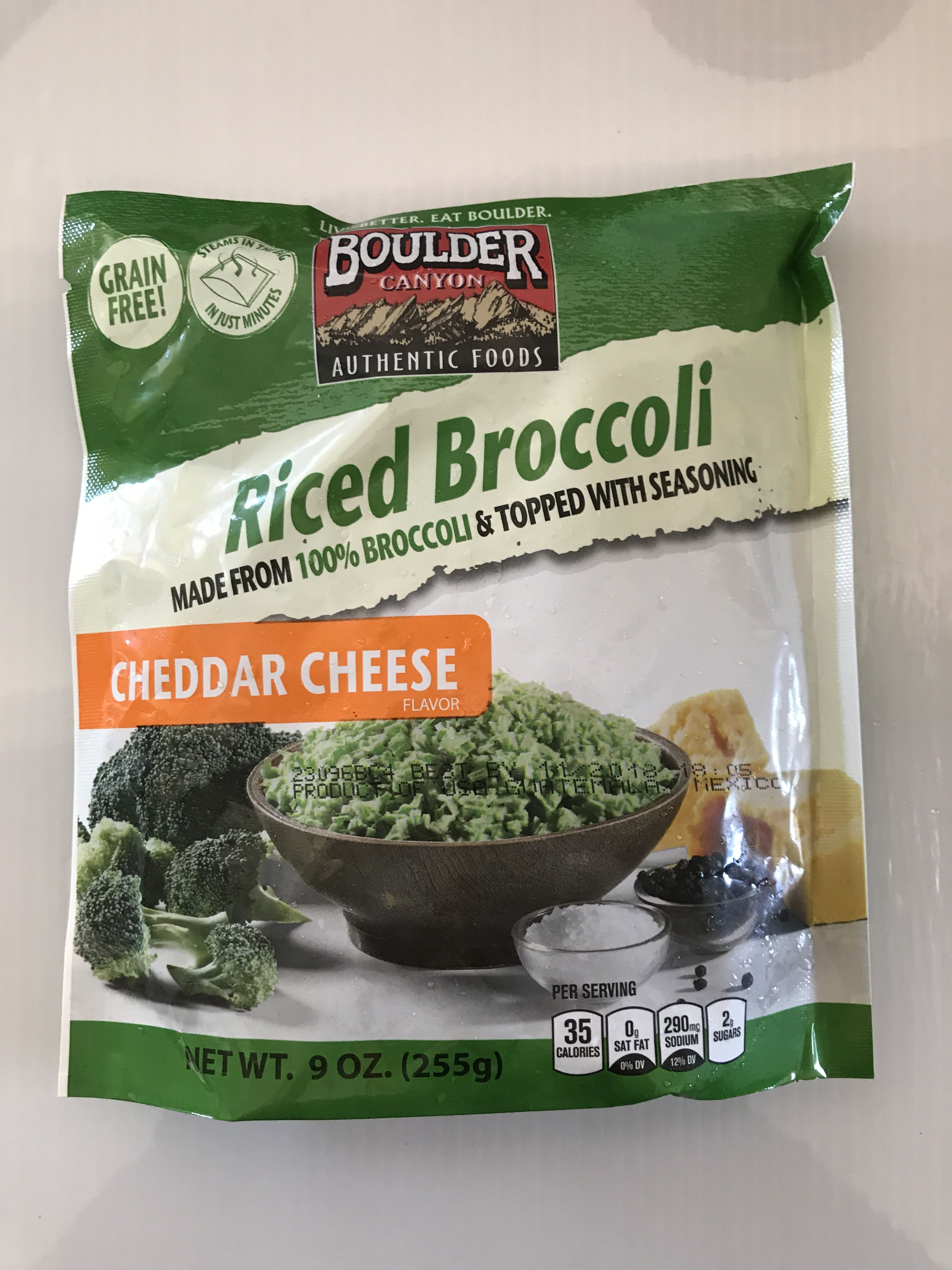 Yummy fast option for side of veggies. I liked it but it was a little mushy. I would add fresh steamed broccoli and use this as the flavor.