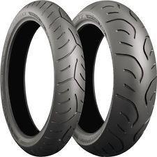 PAIR 120/70ZR17 58W TL F & 180/55ZR17 73W TL R Bridgestone T30