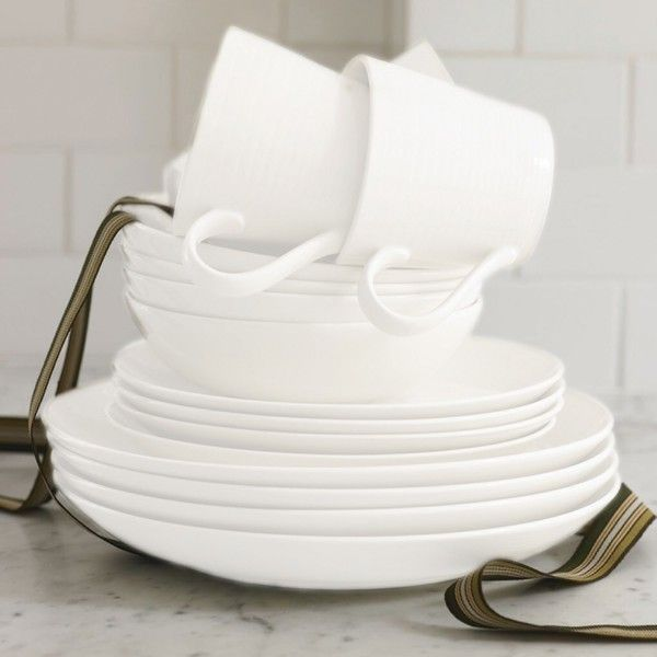 gordon ramsay by royal doulton maze white dinnerware set overstock shopping great deals on gordon ramsay casual dinnerware
