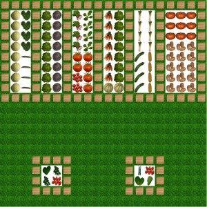 Plan De Potager Mixte Idees Longere Jardin Potager Plan Jardin Et Potager