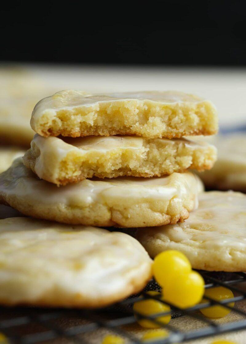 Lemonhead Cookies #biscuitmadeleine