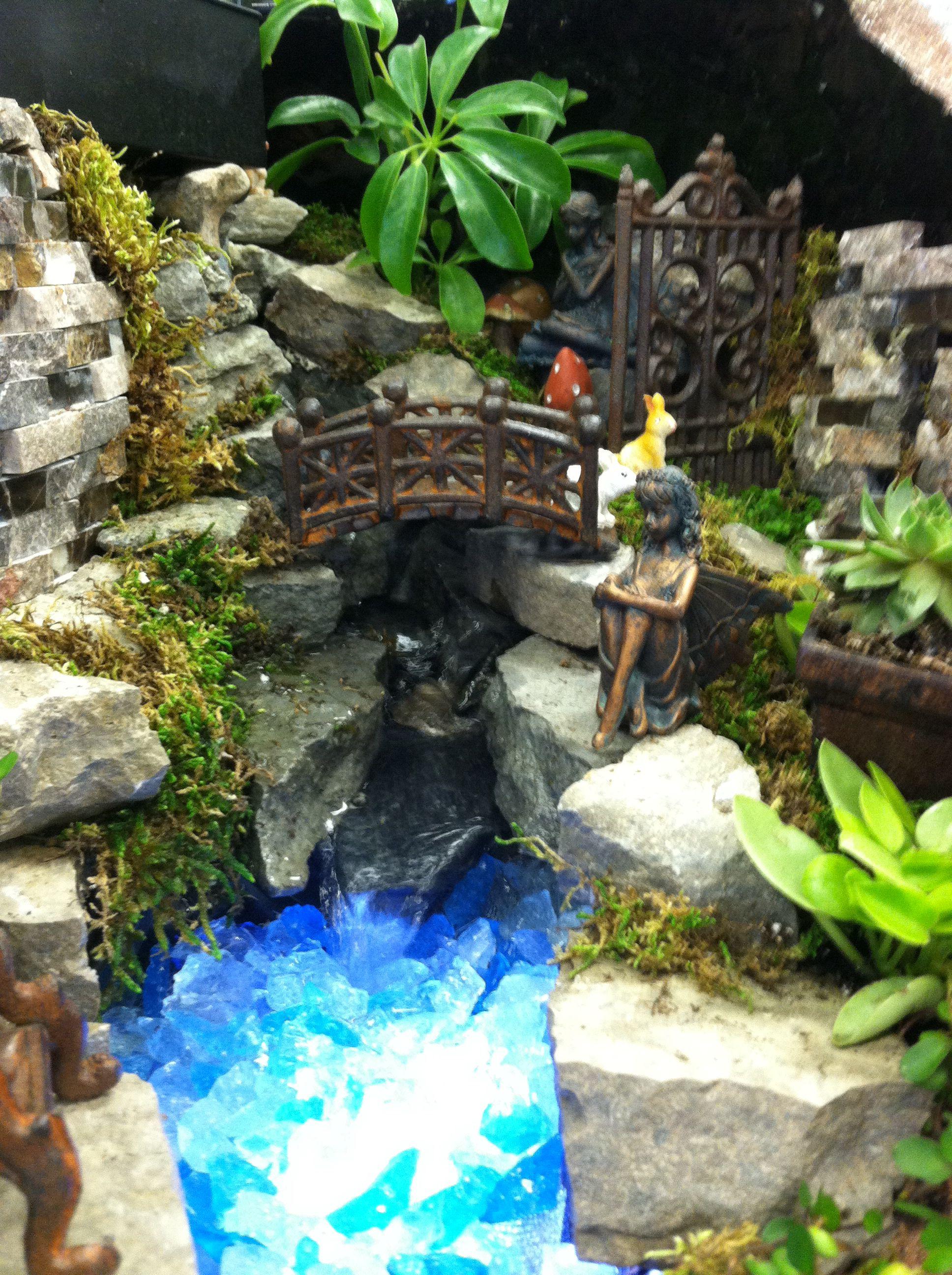 Fairy garden by Kristin Middleton .