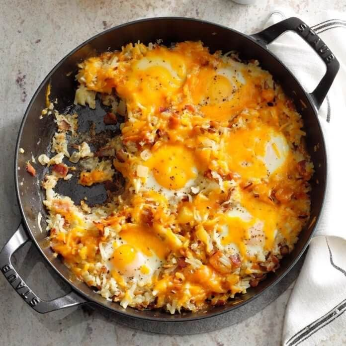 23 Skillet Ideas For Breakfast images