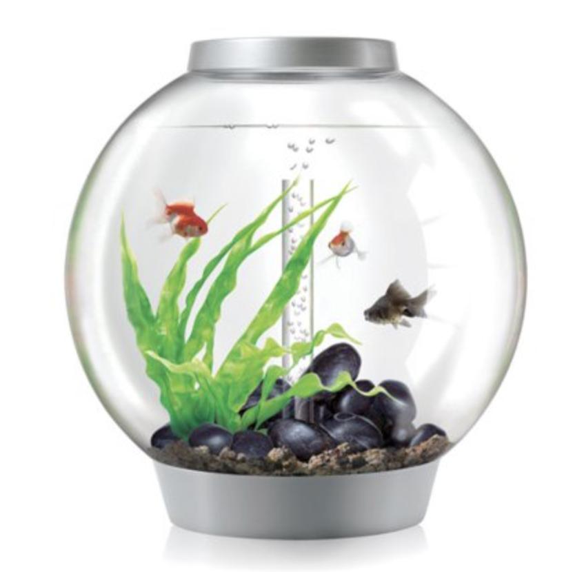 Classic 60 Led Silver Fish Tank Lights Biorb Acrylic Aquarium
