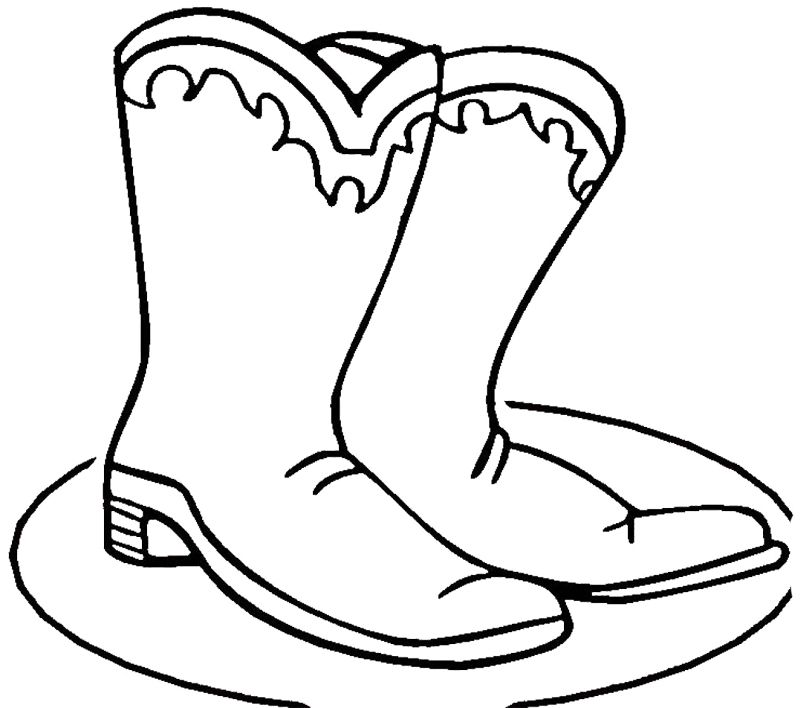 Winter Boots Coloring Pages Printable For Your Kids Description