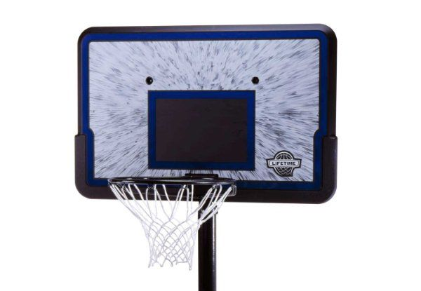 Lifetime 1221 Pro Court Height-Adjustable Portable Basketball System with 44-Inch Backboard:Amazon:Sports & Outdoors