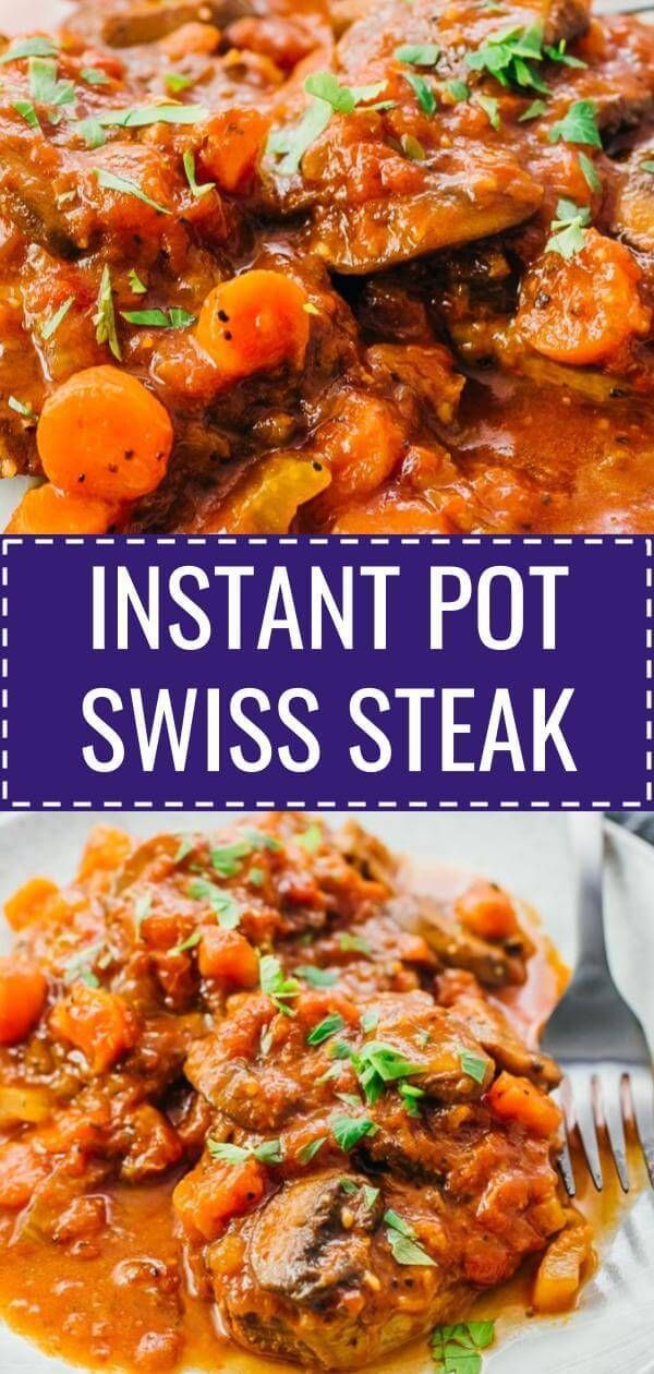 Learn How To Cook This Quick Amp Easy Swiss Steak Recipe With Mushroom And Tomato The Traditional